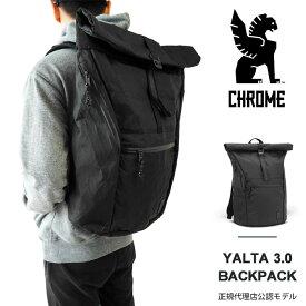 クローム バッグ リュック CHROME YALTA 3.0 BACKPACK ヤルタ 33-35L ロールトップ バックパック ビジネス リュックサック ノートPC収納 BG-295 BKLB-NA-NA 【2021SS 新作】【国内 正規品】
