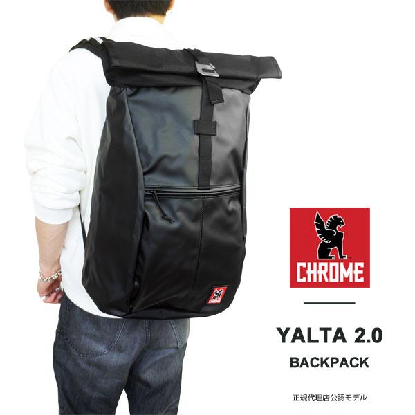 CHROME クローム リュック バックパック ヤルタ 2.0 アスファルト ロールトップ リュックサック バッグ 国内 【正規品】 BG-188-AS YALTA 2.0 ASPHALT