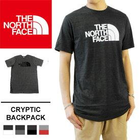 ノースフェイス Tシャツ THE NORTH FACE ロゴプリント 半袖 カットソー ロゴT メンズ カジュアル Men's S/S Tri-Blend Half Dome Tee 本国 正規品 NF0A2T9R