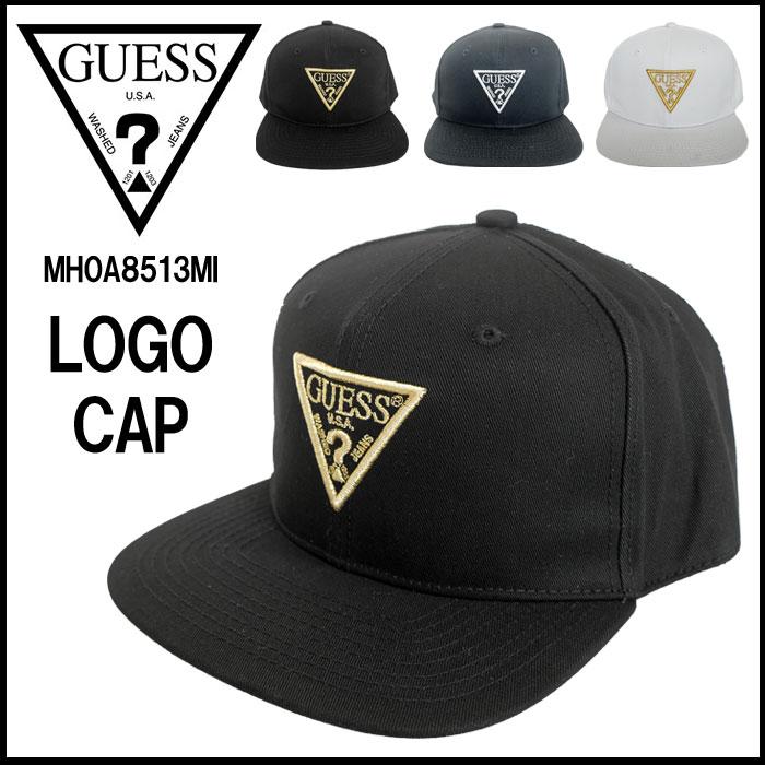 【2018 New】GUESS ゲス キャップ 帽子 6パネル BBキャップ ベースボールキャップ ロゴ 刺繍 メンズ レディース ユニセックス 国内 【正規品】 MH0A8513MI