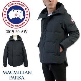 【2019-20 AW New】 カナダグース CANADA GOOSE メンズ ダウン ジャケット マクミランパーカー フード アウター 本国 正規品 3804M MENS MACMILLAN PARKA NAVY(67) ネイビー