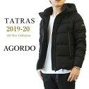 【2019-20 AW New】 TATRAS タトラス ダウンジャケット メンズ AGORDO アゴルド ウール ダウン アウター ショート丈 ダウンブルゾン 着脱フード 本国 正規品 MTK20A