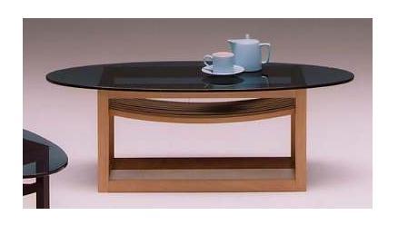 ct−sb−10 センターテーブル(リビングテーブル・ローテーブル・ガラステーブル) (ナチュラル)【送料無料】 【送料無料●激得】