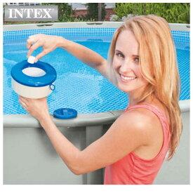 INTEX(インテックス)浮遊式塩素供給器ケミカルフローターCD7【 17.8 cm】Floating Chemical Dispenser 29041 正規品