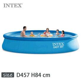 INTEX(インテックス)丸形イージーセットプールES1533【 457 × 84 cm】Easy Set Pool 28157 正規品