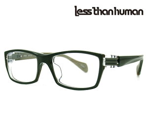 Less than human レスザンヒューマン 2020 5188G メガネフレーム 伊達眼鏡 グリーン×グレー 【送料無料】