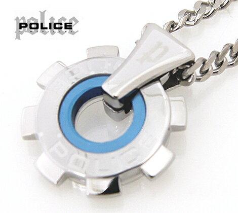POLICE  ポリス ギアモチーフ  REACTOR ペンダント/ネックレス ステンレス 24232PSN01【送料無料】【05P03Dec16】