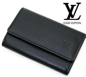 LOUIS VUITTON  ルイ ヴィトン M63812 エピ 6連キーケース ミュルティクレ6 ノワール【送料無料】