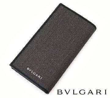 【BVLGARI】ブルガリWEEKENDウィークエンド小銭入れ付長財布ブラック32582【送料無料】