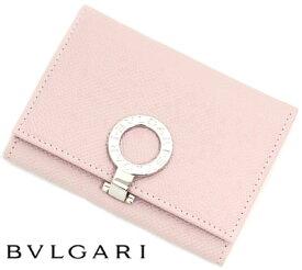 BVLGARI ブルガリ 30421 ブルガリ・ブルガリ カードホルダー カードケース 名刺入れ ライトピンク LIGHT PINK【送料無料】