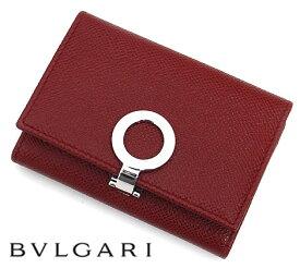 BVLGARI ブルガリ 33887 ブルガリ・ブルガリ カードホルダー カードケース 名刺入れ ルビーレッド RUBY RED【送料無料】