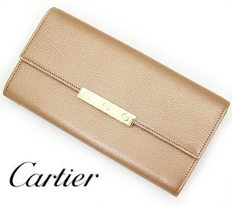 Cartier カルティエ LOVE ラブ 小銭入れ付き 長財布 ゴートスキン シャンパンゴールド L3001374【送料無料】【05P03Dec16】
