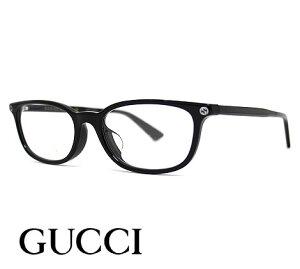 GUCCI グッチ GG0123OJ 001 メガネ 伊達眼鏡 メガネフレーム ブラック インターロッキングGG スクエアシェイプ 【送料無料】