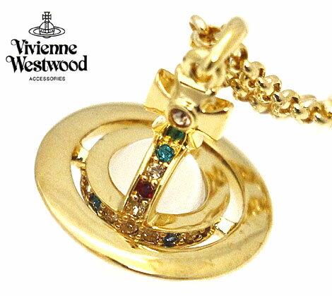 VivienneWestwood ヴィヴィアンウエストウッド 1504/14/01 アクセサリー PTEITE ORB プチオーブ ペンダント/ネックレス ゴールド【送料無料】