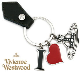 VivienneWestwood ヴィヴィアンウエストウッド 82030009 M401 I LOVE ORB キーリング/キーホルダー ハート オーブ シルバー×グリーン【送料無料】