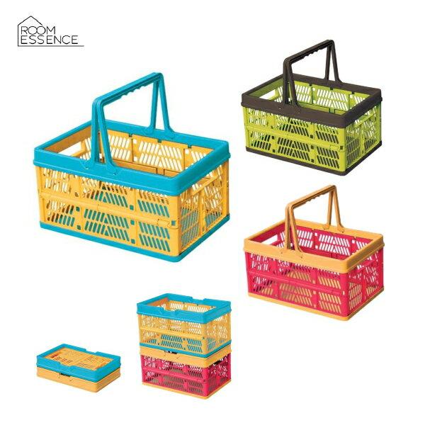 スタッチボックス SSB-31(PK)/SSB-31(GR)/SSB-31(OR) おもちゃ箱・プラスチックかご・折りたたみ収納ケース・「TOY BOX」。/東谷LF/インテリア雑貨家具