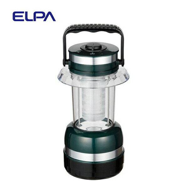 エルパ 取っ手付きLEDコンパクトランタン43lm DOP-L009L ELPA 朝日電器 本格派乾電池式軽量強力小型コンパクト電灯・おしゃれなハンディライト・防沫形(IPX4)防水仕様