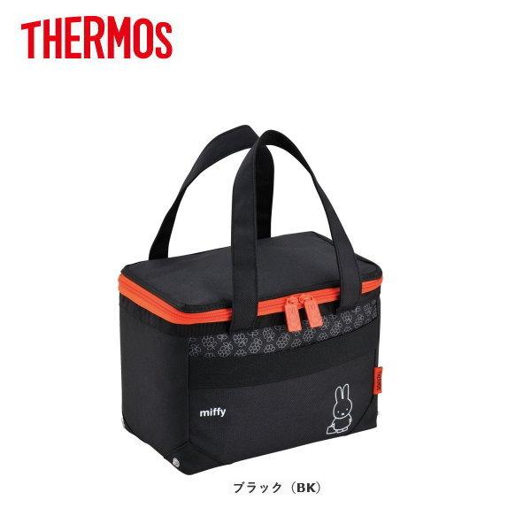 サーモス ソフトクーラー REH-005B-BK THERMOS おしゃれな保冷バッグ/クーラーバッグ/お買い物バッグバッグ/人気のキャラクター・ミッフィー柄
