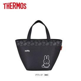 サーモス ソフトクーラー REH-006B-BK THERMOS おしゃれな保冷バッグ/クーラーバッグ/お買い物バッグ/人気のキャラクター・ミッフィー柄
