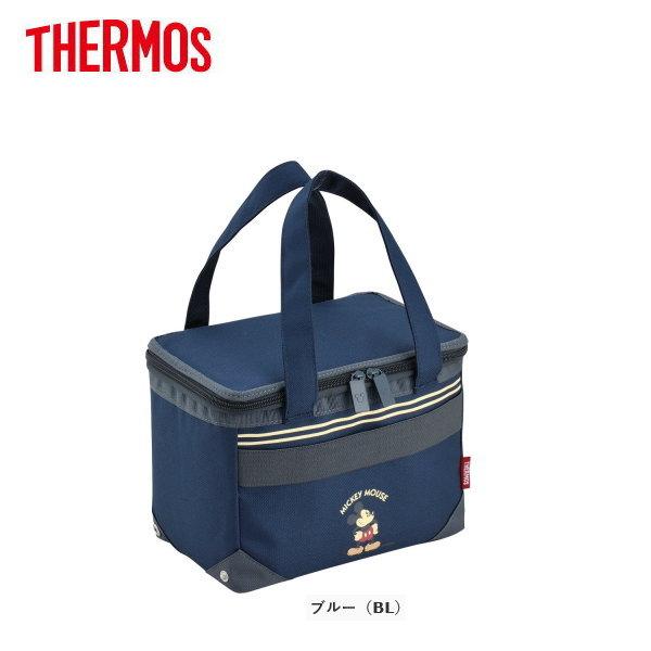 サーモス ソフトクーラー REH-005DS-BL THERMOS おしゃれな保冷バッグ/クーラーバッグ/お買い物バッグバッグ/人気のディズニーキャラクター・ミッキーマウス柄