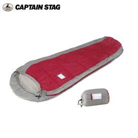 2シーズン子供用シュラフ/寝袋 M-3447 アクティブ キッズマミー300 レッド キャプテンスタッグ(CAPTAINSTAG) アウトドア用品・キャンプ用品・バーベキュー(BBQ)用品・寝具・テント・バンガローで、防災・災害グッズとしても!