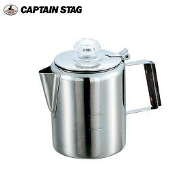 18-8ステンレス パーコレーター 3カップ M-1225 キャプテンスタッグ(CAPTAINSTAG) アウトドア用品・キャンプ用品・BBQ・焼き肉で大活躍!