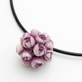 -特殊的价格 !-在意大利蒙特烤紫玫瑰全球吊坠
