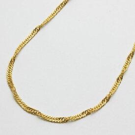 ◇特別価格!!◇【送料無料】 純金 ネックレス (K24)(セミロングサイズ・スクリュー)【smtb-k】