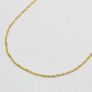 【送料無料・消費税込】 純金 ネックレス (K24)(50cmセミロングサイズ・スクリュー)【smtb-k】