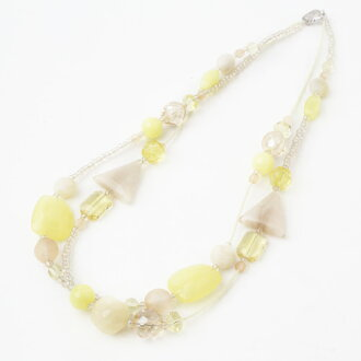 NEW!! AVE CAPRICE意大利·米蘭(MILANO)威尼斯人玻璃·項鏈檸檬黄