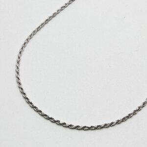 【DIBI】●送料無料●イタリア製 シルバー無垢 ネックレスカットロープ(縄) 50cm・1.7mm幅 【smtb-k】