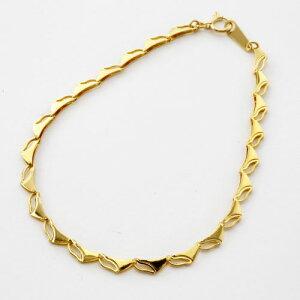 PURE GOLD の輝きを手首に純金 ブレスレット(K24)(ラギング・ウェーブ)【smtb-k】