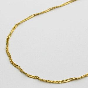 純金 ネックレス(K24)(ゆったり45cmサイズ・スクリュー)【smtb-k】
