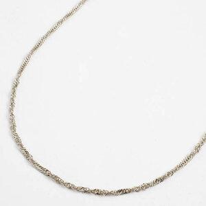 造幣局検定刻印入 純プラチナ ネックレス(PT999)スペアースクリューチェーン