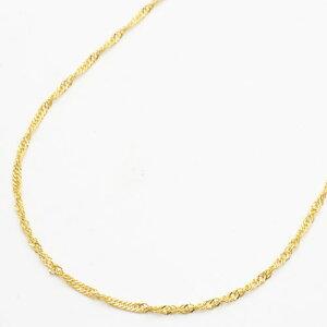【送料無料・消費税込】純金ネックレス(K24)k24 ゆったりセミロングサイズ・スクリュー【smtb-k】