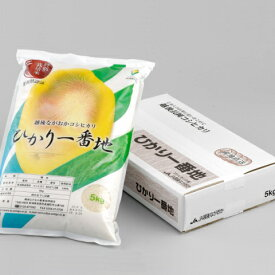 【特別栽培米】ひかり一番地(新潟県産コシヒカリ)5kg 令和元年産【送料無料】