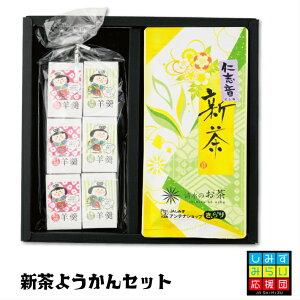【2021新茶】新茶 ようかん セット