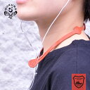 イヤホン ストラップ イヤフォン ホルダー 本革 革 栃木レザー ネックバンド メンズ レディース コード アクセサリー …