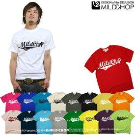 MILD CHOP LOGO/オリジナル半袖Tシャツ/ネット限定Tシャツ【cloth】MILDCHOP by JACA JACA