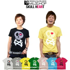 SKULL HEART/オリジナル半袖Tシャツ/ロック/スカル/オリジナル/キャラクター/音楽/アニマル/デザイン/ロゴ/メッセージ/ピース/ネット限定Tシャツ【cloth】NOT EQUAL by JACA JACA 0620ます得5