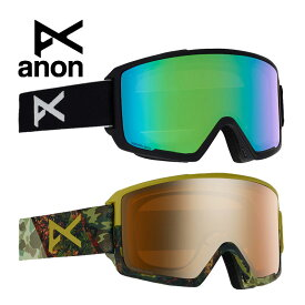 anon.(アノン) メンズ スノー ゴーグル Men's Anon M3 Goggle + Spare Lens + MFI Face Mask【W20JP-203381】 スキー 2019AW