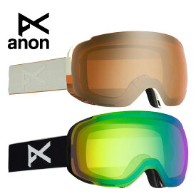 anon.(アノン) メンズ スノー ゴーグル Men's Anon M2 Goggle + Spare Lens + MFI Face Mask【W20JP-203361】 スキー 2019AW