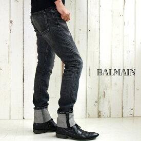 BALMAIN HOMME バルマン オム S2H T575 B836 ヴィンテージデニム 176/ブラック