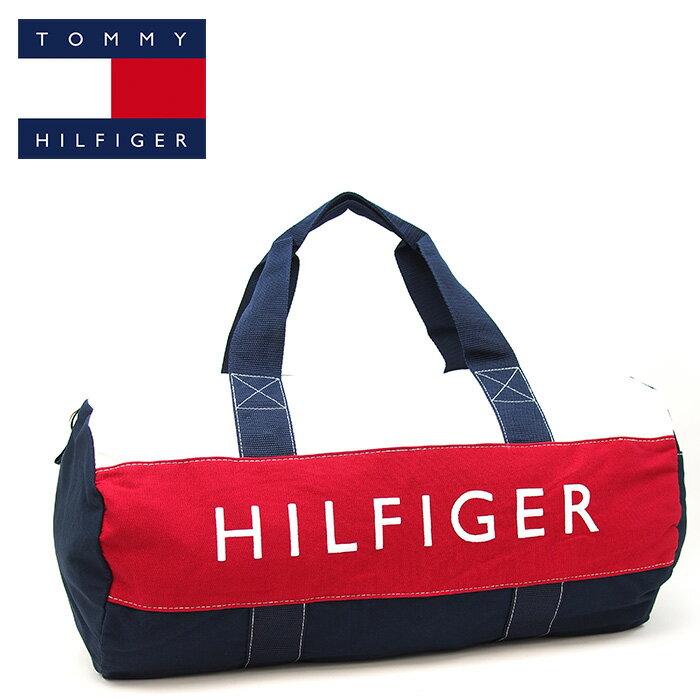 TOMMY HILFIGER トミーヒルフィガー ボストンバッグ 2wayショルダーバッグ ネイビー ラージサイズ トミーヒルフィガー ボストンバッグ トミーヒルフィガー バッグ