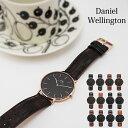 Daniel Wellington ダニエルウェリントン Classic Black 40mm クラシックブラック 本革レザーベルト メンズ腕時計  ダニエルウェリントン ブラック ダニエルウェリント