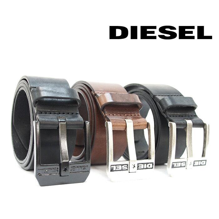 DIESEL ディーゼル ヴィンテージ加工 レザーベルト 全3色 BLUESTAR X03728 PR227 ディーゼル ベルト diesel ベルト