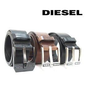 DIESEL ディーゼル ヴィンテージ加工 レザーベルト 全3色 BLUESTAR X03728 PR227 ディーゼル ベルト diesel ベルト メンズ ディーゼル ベルト メンズ