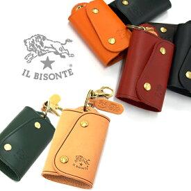 IL BISONTE イルビゾンテ キーケース キーレスキーケース C0847P 全9色 イルビゾンテ キーケース