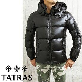TATRAS タトラス BELBO MTAT20A4562-D フード付き メンズダウンジャケット BLACK/ブラック タトラス ダウン メンズ タトラス メンズ
