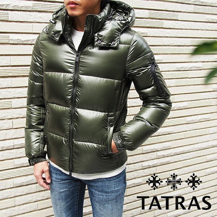 TATRAS タトラス BELBO MTA19A4562 フード付き メンズダウンジャケット OLIVE/オリーブ タトラス ダウン メンズ